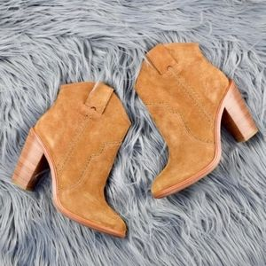 (JOIE) Monte Booties in Cognac